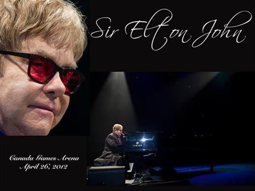 Elton John at Crystal Centre