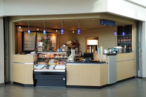 Esquires Coffeehouse Kiosk