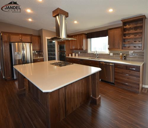 The Pinnacle show home kitchen