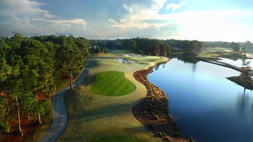 Sandestin features four champioship golf courses