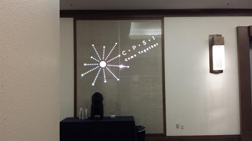 Custom Logo Projection
