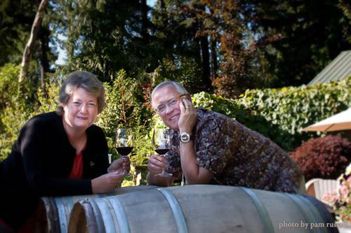 Camarderie Cellars, Vicki and Don Corson