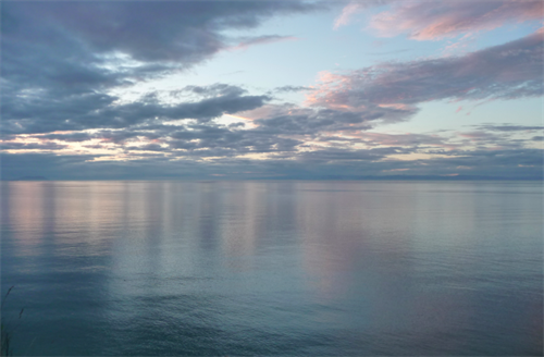Drive 10 minutes from the forest to the coast and enjoy the light show that is the sunset on the Straits of San Juan De Fuca.