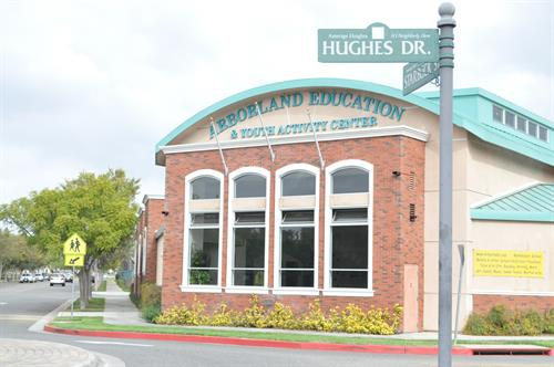 The Education Center is located on Hughes Drive behind the Amerige Heights Shopping Center