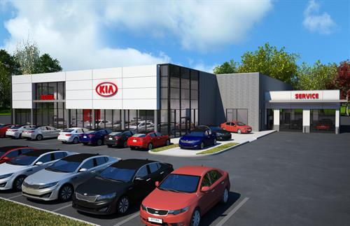 The New Wexford Kia - Coming Soon!!