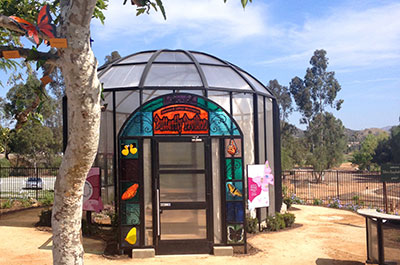Our beautiful Butterfly Pavilion is a great place to learn about butterflies and their importance in your garden.