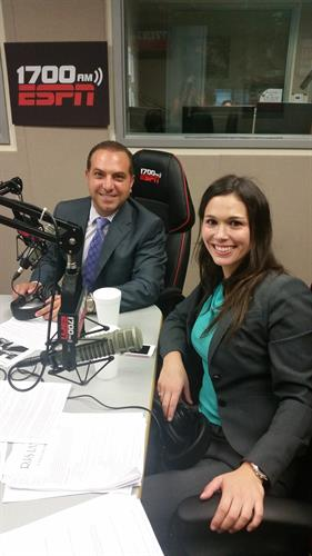 Ronson J. Shamoun and Paula Brunoro were recently interviewed on ESPN Radio on AM 1700.They discussed current events related to tax and gave tax tips.