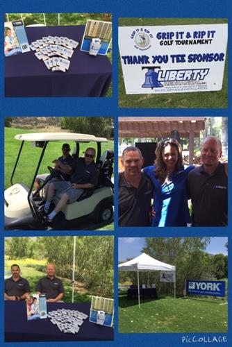 Fun at  the East County Chamber of Commerce Golf Tourney