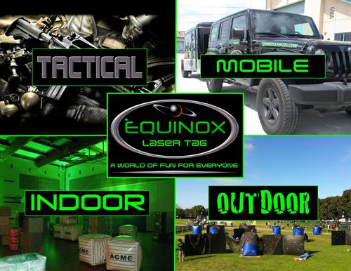 Equinox - Indoor, Outdoor, Mobile & Tactical Laser Tag