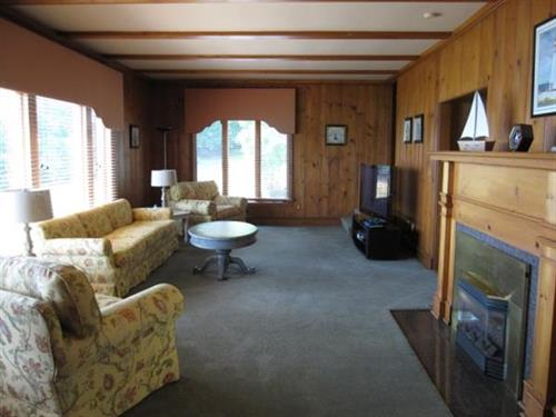 Northern Loon Cottage Living Room