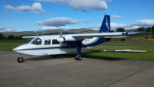 The Britten-Norman Islander joins Cape Air's fleet of Cessna 402s to provide service to unique island destinations.