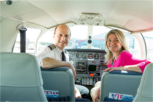 Cape Air Founder & CEO, Dan Wolf, and President, Linda Markham, oversee an employee group of over 1,200 across five regions in the US, Caribbean and Micronesia.