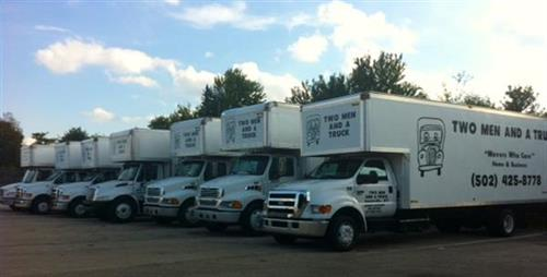 Our Fleet of Trucks and growing for your needs