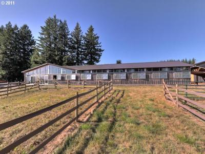 SOLD Gorgeous Forest Reach Stables on 75 acres in Estacada