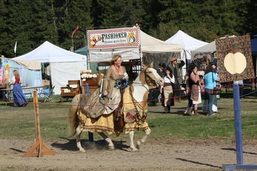 Debbie at the Spokane Renaissance Faire