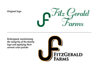 Time for a refresh of FitzGerald Farms logo