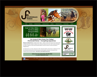 Once the logo was redesigned, we created a new website for FitzFarms.com