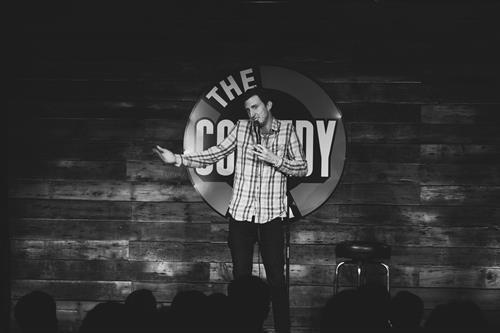 Comedian Jeff Scheen