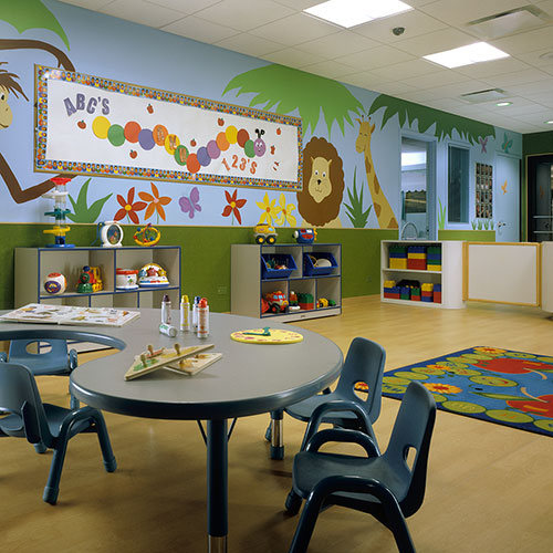 The Children's Activity Center, the childcare facility at East Bank Club