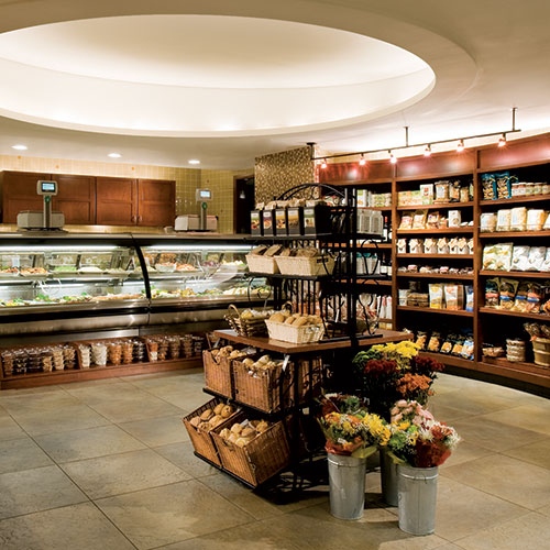 The Food Shop, a gourmet deli open to the public, at East Bank Club