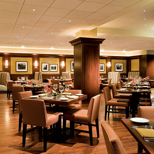 Maxwell's at the Club, upscale American dining, open to the public, at East Bank Club