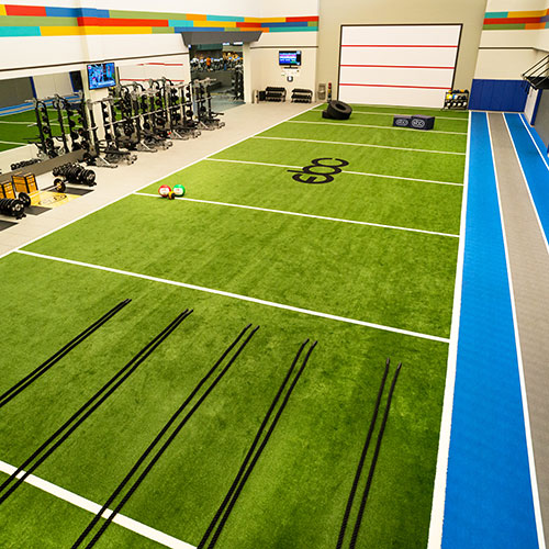 The Performance Center for functional training at East Bank Club
