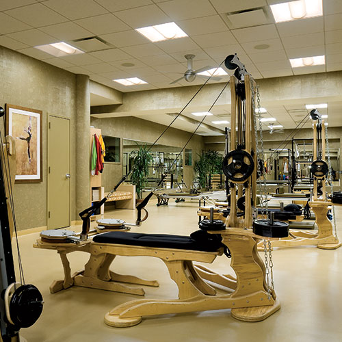 The Pilates and GYROTONIC Studio at East Bank Club
