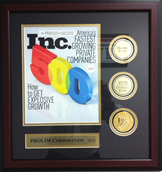 Fastest Growing Private Company in America - Inc 500 Award