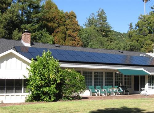 SolarCraft residential solar power roof top installation