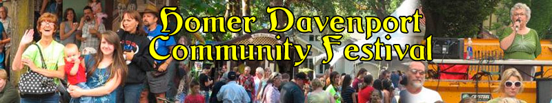 Homer Davenport Community Festival