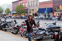 The Hells Canyon Motorcycle Rally in historic Downtown Baker City