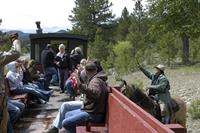 Train robberies on the historic Sumpter Valley Railroad all summer long with the Gold Rush Bandits
