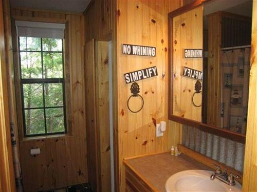 Stand Up Shower & Potty Room