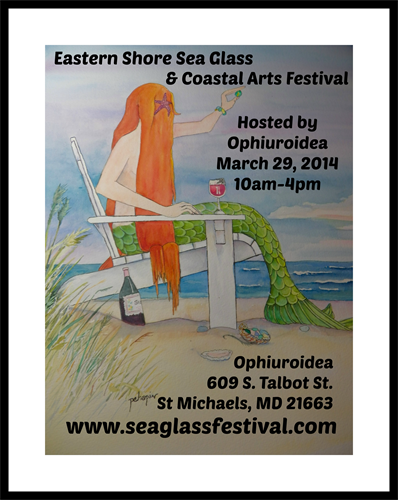 Annual Eastern Shore Sea Glass & Coastal Arts Festival