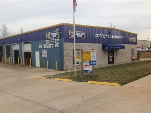 Welcome to Coffey Automotive serving St. Charles for over 25 years.