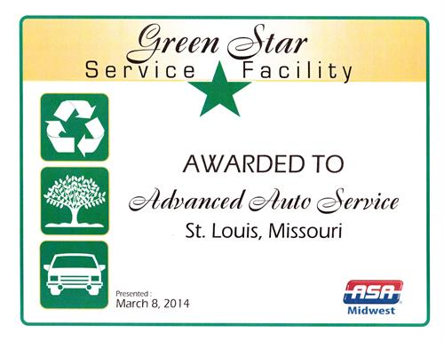 ASA-Midwest Green Star Facility