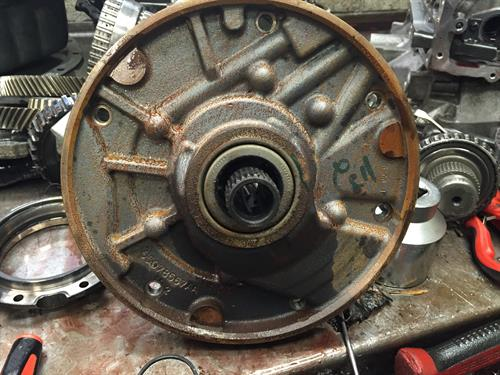starting a transmission repair after removal