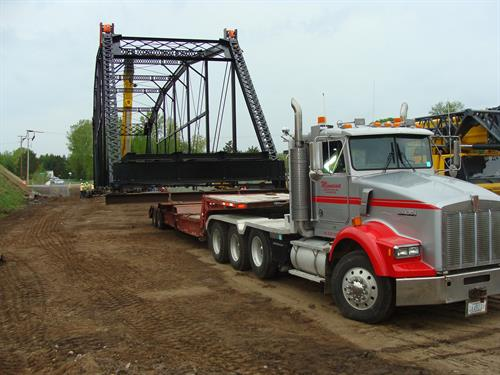 Silverdale Bridge Move