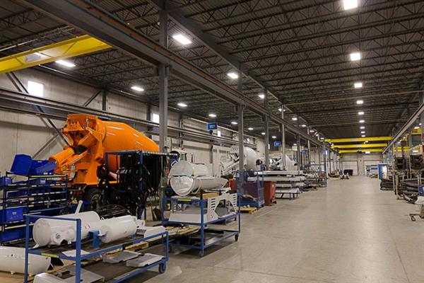 London Machinery Production Facility