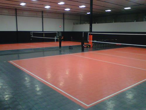 Volleyball Facility. Germantown, WI