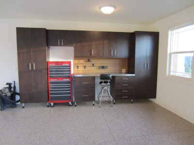Garage Cabinets - Home in Waunakee