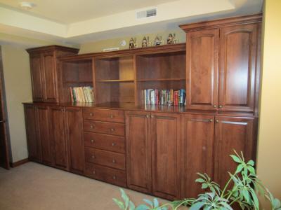 Spare Condo Bedroom - Real Wood Veneer