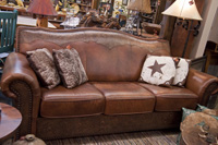 Leather Sofa, Western Furniture