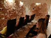 The Salt Cave MN meditation class with Sarah