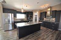 The Summit show home kitchen