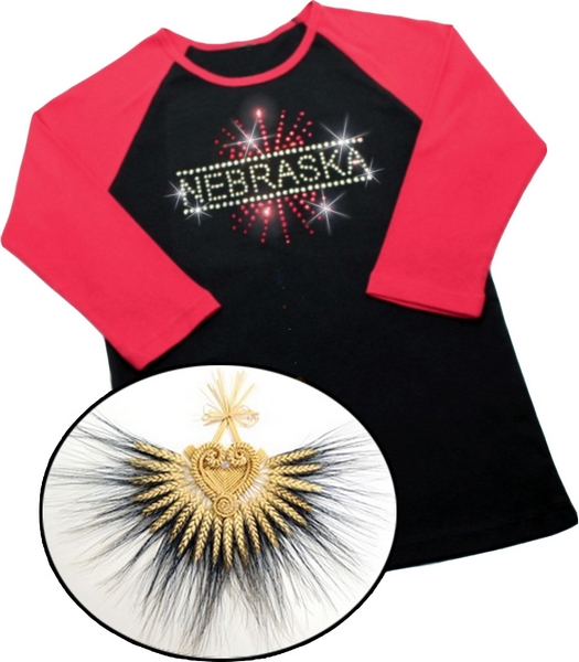 Custom Rhinestone Apparel and Nebraska Wheat Weavings
