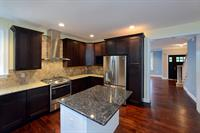 kitchen at custom home on Morris Ave, Manasquan, NJ