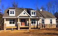 new custom home being built in Mantua, NJ