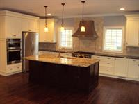 kitchen at custom home on Cowart Ave, Manasquan, NJ