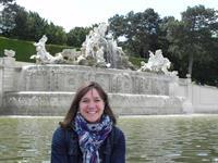 Schonbrunn Palace Gardens Vienna Austria 2015
